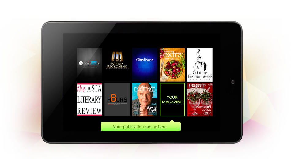 Digital Publishing Platform for Tablet, iPad, iPhone, Apple